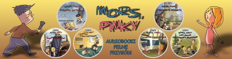 Przygody Morsa i Pinky - zestaw audiobooków dla dzieci